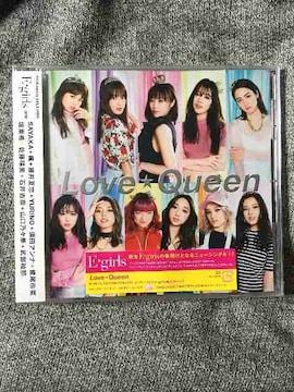 E-girls♪最新曲♪【Love☆Queen】CD1枚組(^_^)