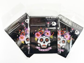 DAY OF THE DEAD ラッピングジッパーバッグS 8枚入り×3セット