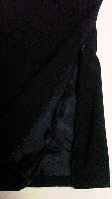 KOOKAI・クーカイ〓サイドジップシンプルテーラードジャケット〓ポーランド製〓黒 36 < ブランドの