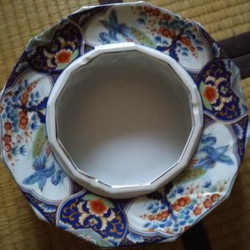 九谷焼 絵灰皿