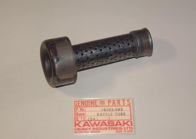 kawasaki Vintage MX KX250A 〜 KX250A3 バッフルチューブ < 自動車/バイク