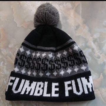 【値下げ不可】極美品 !!ブラック×ホワイト FUMBLE ボンボン
