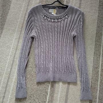 ジルスチュアート ニット セーター 美品 グレー