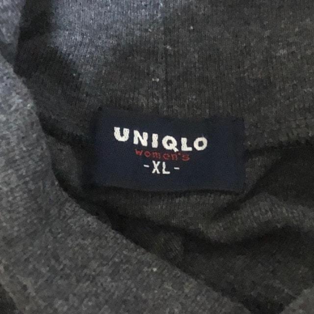 UNIQLO ハイネックカットソー 暖かインナー < ブランドの