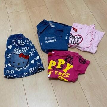 BABYDOLL★4点まとめ売り★夏服★120