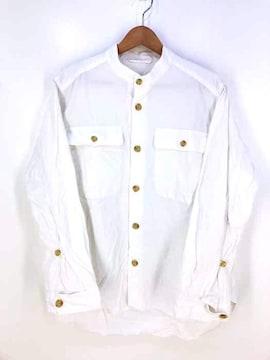 QUILP(クイルプ)ノーカラーシャツシャツ