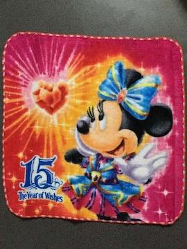 新品 ディズニーシー 15周年 ミニタオル ミニーマウス Dz21