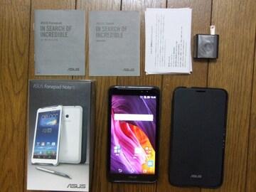 6インチSIMフリー ASUS fonepad Note 6 K00G(ME560CG)中古!