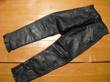 70年代 AMF ハーレーダビッドソン レザーパンツ 30