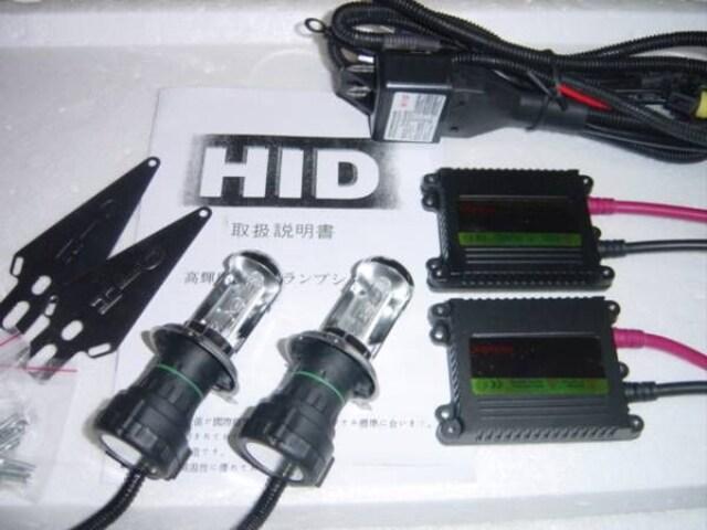 H4スライド式HIDキット H-L 35w 55w. スペアバルブ付き < 自動車/バイク