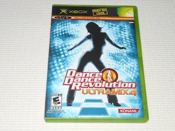 xbox★DANCE DANCE REVOLUTION ULTRAMIX 4 海外版