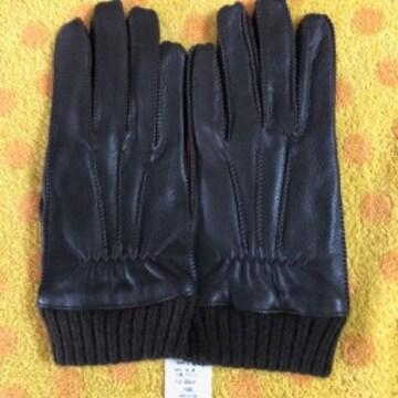 男女兼用 超暖か裏ニット羊手袋