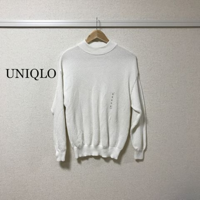 UNIQLO ハイネックニット  < ブランドの