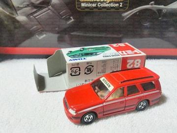 赤箱 ステージア GT-Rワゴン 赤 プラレール カートレイン