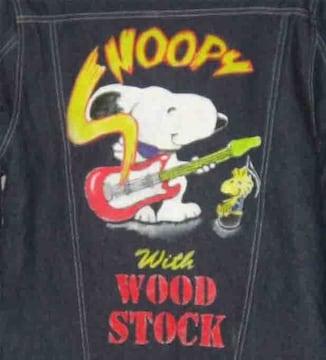 手描き スヌーピーとウッドストック Snoopy & Woodstock