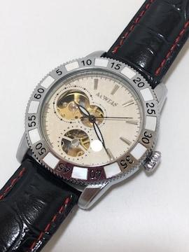 T107美品★ コンタス 自動巻き オートマチック 腕時計
