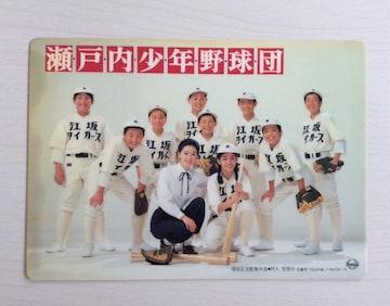 映画『瀬戸内少年野球団』下敷き!