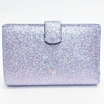 美品kate spadeケイトスペード コンパクト財布 ラメ 正規品