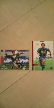 山田卓也 直筆サインカード 2枚セット