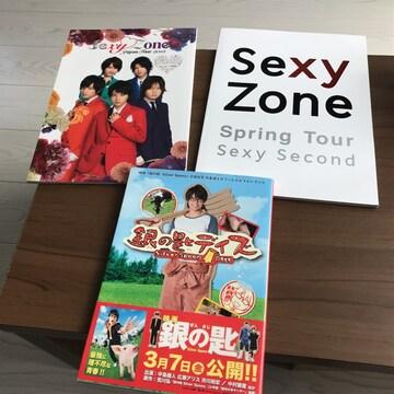 2013スプリングsexy zoneパンフレット銀の匙 中島健人 写真集