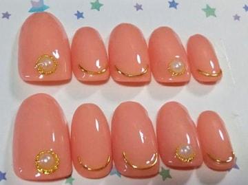 ジェルネイルチップ☆付け爪☆シンプルワンカラー☆ピンク