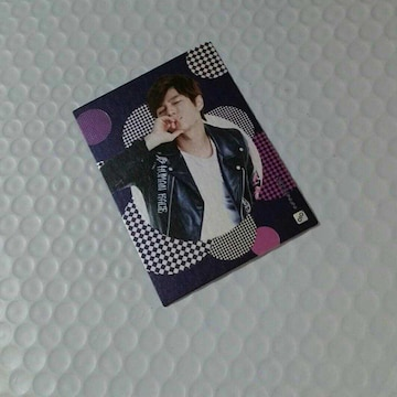 INFINITE オフィシャルコレクションカード 061 エル (星座カード