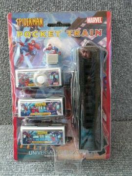 USJ「スパイダーマン ポケットトレイン」T