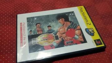 PS2☆はじめの一歩☆状態良い♪アクションボクシングゲーム。