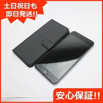 ●●美品●SOFTBANK iPhone6 PLUS 128GB スペースグレイ●