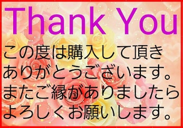 送料込み価格 Thank Youシール B-4    5シート