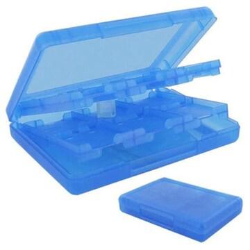 ブルー 3DS/DSI用 カードケースNEW 3DS / NEW 3DSXL/3DS / DSi/