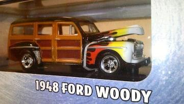 100%HW/'48 FORDフォード WODDYウッディ 1/64