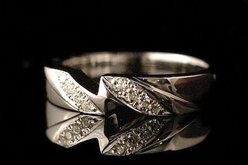 新品■JUSTIN DAVIS■LOVE SPARK RING■7.5号■18K■ロドキン