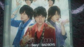 激安!超レア!☆SexyZone/BAD BOYS☆初回限定盤/CD+DVD☆美品!