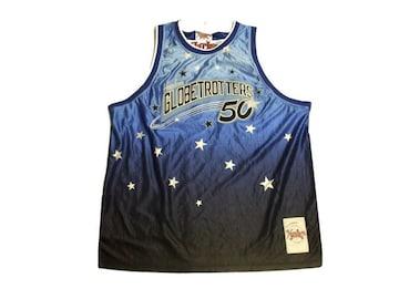 セール新品PlatinumFUBU★グラデーションゲームシャツ3XLブルーオーバーサイズ