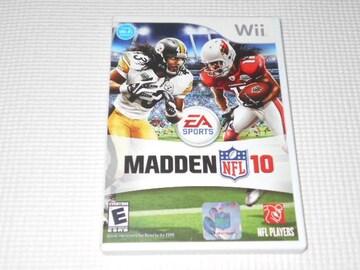 Wii★MADDEN NFL 10 海外版(国内本体動作不可)