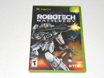 xbox★ROBOTECH BATTLECRY 海外版
