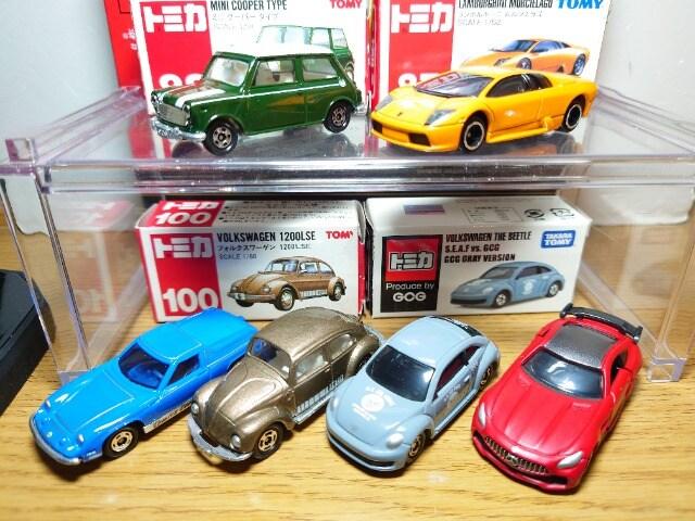 1スタ★トミカ10台外国車セット★赤箱/GCG/イベント/ランボルギーニセット★