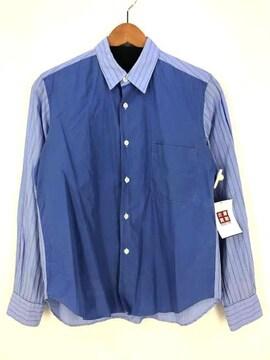 COMME des GARCONS HOMME(コムデギャルソンオム)切替ストライプシャツ AD2006シャツ