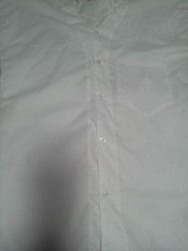 ☆新品=白×無地=鯉口ダボシャツL