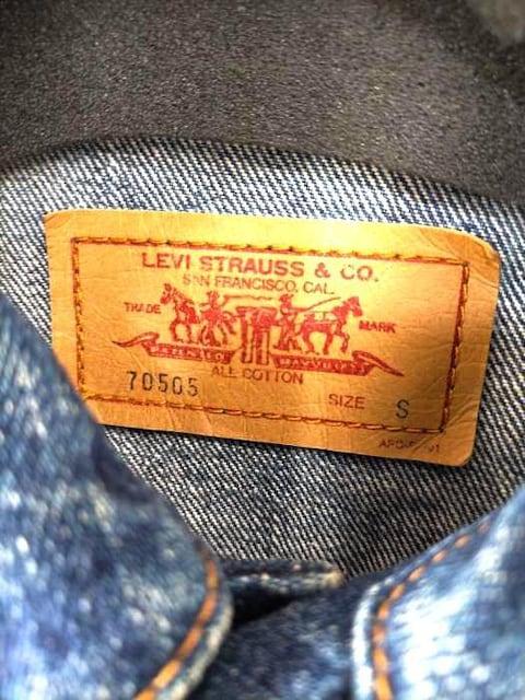 Levis(リーバイス)70505 デニムジャケットデニムジャケット < 男性ファッションの