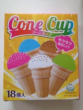 送料無料 お徳用 菓子 アイスクリーム コーン ?ar?l ハラル