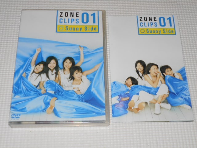 DVD★ZONE ZONE CLIPS 01 Sunny Side  < タレントグッズの