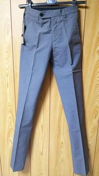 正規未 ディオールオム Dior Homme スラックス グレー 最小38 XXS 26 スーツ パンツ