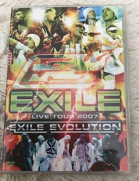 EXILE  LIVE TOUR 2007  EXILE EVOLUTION 中古DVD