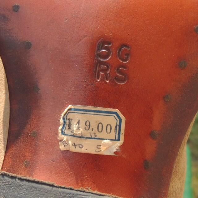 R.M.Williamsオーストリア製スエードブーツ23cmスクエアトゥ < 女性ファッションの