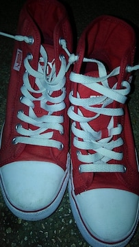 PUMA スニーカー バッシュ 23.5cm 赤色