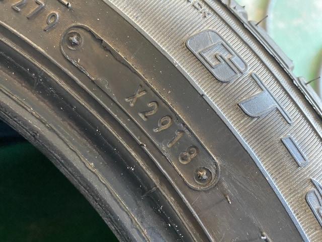 7071592)激安バリ溝国産中古タイヤ4本セットグッドイヤ-175/60R15送料無料 < 自動車/バイク