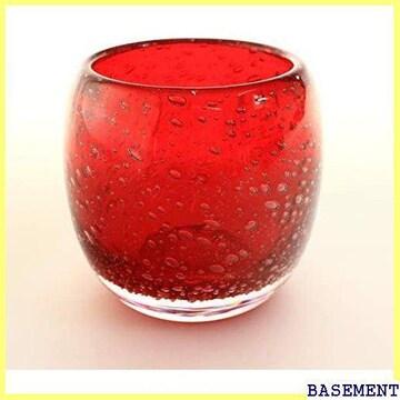 【新品】 冷茶グラス 蛍紅泡赤 タルグ ップ コップ 306