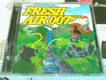 《FRESH AIR 007》BARRIER FREE バリアーフリー レゲエ reggae